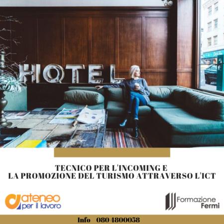 TECNICO PER L'INCOMING E LA PROMOZIONE DEL TURISMO SOSTENIBILE ATTRAVERSO L'ICT
